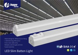 OEM CE ROHS TUV-GS New Popular 2018 LED Lighting Surface Mounting Slim Batten 60w LED Batten
