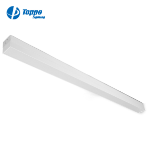 Suspended Suspermarkets office Pendant Aluminium+pc Housing 132w 22wW LED Linear Light